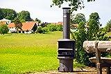 OXNFEIA® Gartenkamin Burner Grill Terrassenkamin Terrassengrill Terrasse Sommer