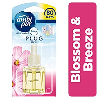 Ambi Pur Blossom and Breeze Air Freshener Plug-in Refill, 20 ml, Pack of 6
