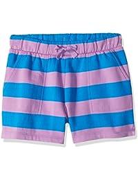 Marca Amazon / J. Crew - LOOK by crewcuts Pantalones cortos de punto para niña