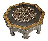 Lalhaveli indischen klein niedrigen Tisch Holz klein Hocker