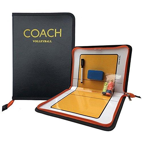 Firelong - Volleyball Coaching Board - Taktische Strategie-Trainingshilfen Ausrüstung – Reißverschluss