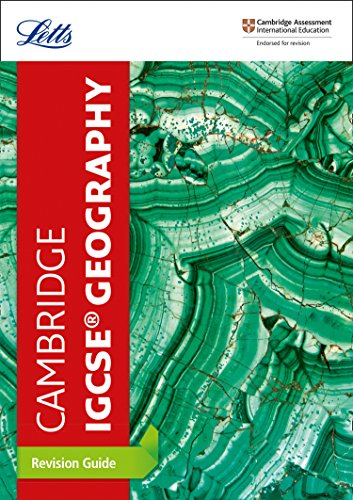 Cambridge IGCSE® Geography Revision Guide (Letts IGCSE Revision Success) por Letts Cambridge IGCSE