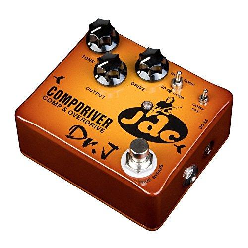 Dr. J BOUTIQUE Gitarren Effekt Pedal-Palette Von JOYO Dr.J JDC Compressor Overdrive sunburst
