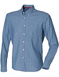 Front Row - Chemise Chambray 100% coton - Homme