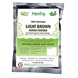 Light Brown Henna Hair Color – 100% Organic and Chemical Free Henna for Hair Color Hair Care - ( 60 Gram = 1 Packet) Amazon