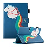 Dteck (TM) Étui universel pour Samsung Galaxy, tablette iPad d'Apple, Amazon Kindle, Google Nexus et plus 6.5–26,7 cm Tablette For 9.5-10.5 inch tablet 06 Rainbow Unicorn