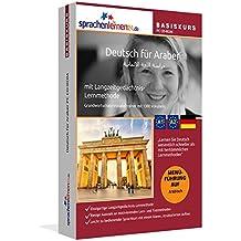 Deutsch für Araber Basiskurs, PC CD-ROM Deutsch-Sprachkurs mit Langzeitgedächtnis-Lernmethode. Niveau A1/A2