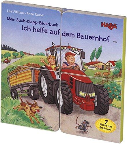 HABA 5351 - Mein Such-Klapp-Bilderbuch - Ich helfe auf dem Bauernhof