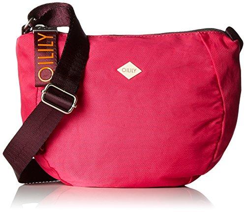 Oilily Damen Groovy Shoulderbag Shz Umhängetasche, Pink (Pink), 10x22.5x25 cm