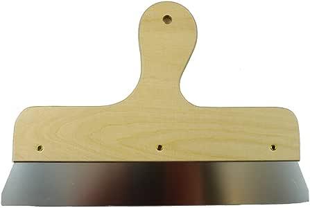 Rakel Fassadenspachtel Malerspachtel mit Holzgriff Rostfrei 15 cm