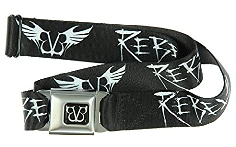 Black Veil Brides BVB Rebels Seatbelt Belt