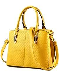 COOSUN Zen Pierres PU Sac à bandoulière en cuir et sacs à main sac à main sac fourre-tout pour les femmes Moyen Multicolore # 002