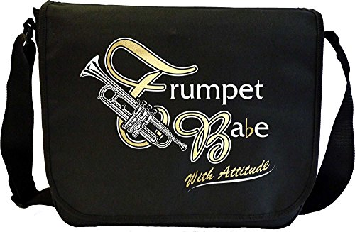 Trumpet-Babe-Attitude-Sheet-Music-Document-Bag-Musik-Notentasche-MusicaliTee