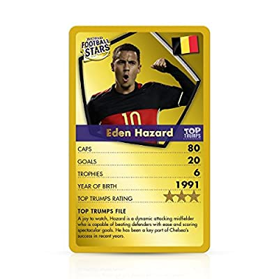 Top Trumps World Football Stars Gold