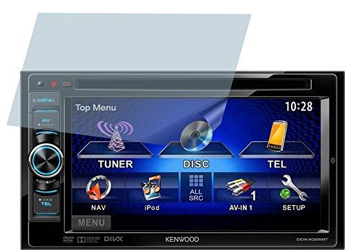 4ProTec Kenwood DDX-4025BT (2 Stück) Premium Displayschutzfolie Bildschirmschutzfolie ANTIREFLEX - Kratzfest UND PASSGENAU