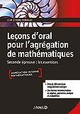 Leçons d'oral pour l'agrégation de mathématiques - Les exercices