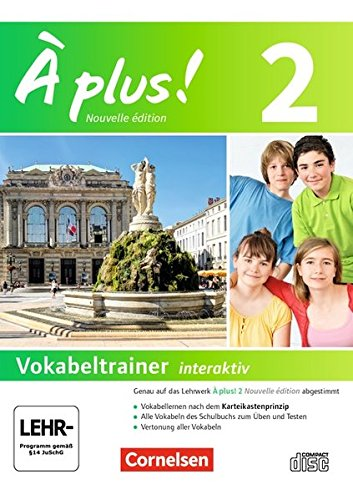 À plus ! - Nouvelle édition / Band 2 - Vokabeltrainer auf CD-ROM