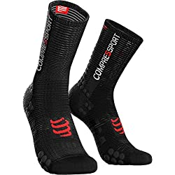 Compressport - COMPRESSPORT - Chaussettes - RACING SOCKS V3.0 BIKE SMART Noir - tailles : T3