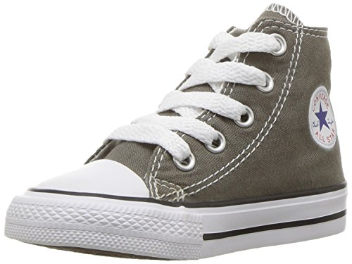 Converse Chuck Taylor All Star Season Hi,Unisex - Kinder Sneaker, Charcoal, 28 EU (Converse Kid Sneakers)