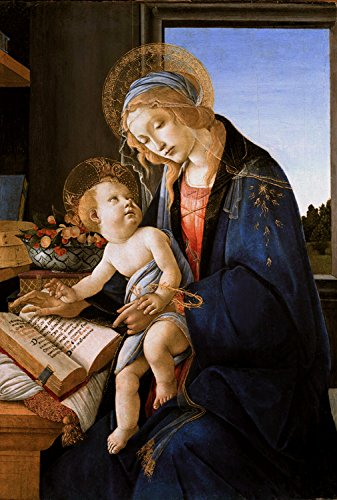 Steve Art Gallery Madonna and Child or Madonna of The,Sandro Botticelli,60x40cm -
