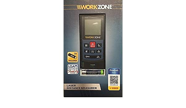Workzone laser entfernungsmesser u2013 bis zu 40 m u2013 geeignet für innen