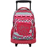 TOTTO Mochila con ruedas trolley RENGLON ECOLE 7PS