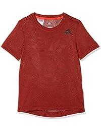 Adidas Yb Textured tee Camisa de Golf, Niños, Rosa (roalre), 164 (13/14 años)