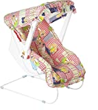 Baba Ji Enterprises Nithya Carry Cot Cum Bouncer - 10 In 1 Feeding Chair, Baby Chair, Rocker, Carrying, Bouncer & Baby Swing-Multicolor