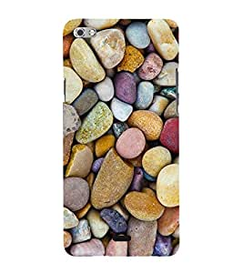 Colourful Marbles 3D Hard Polycarbonate Designer Back Case Cover for Micromax Canvas Sliver 5 Q450