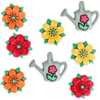 Summer Flowers & Craft Novelty-Bottoni decorativi Dress It Up by