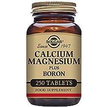 Solgar Calcium Magnesium Boron Tablets, 250 Count