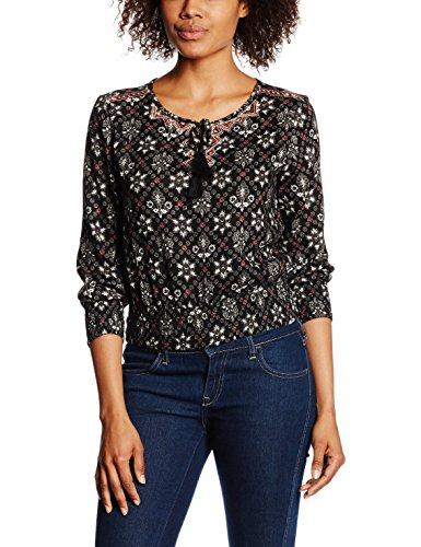 ONLY Damen Bluse  - Camicia Donna, multicolore (aop:Print 3), taglia 34