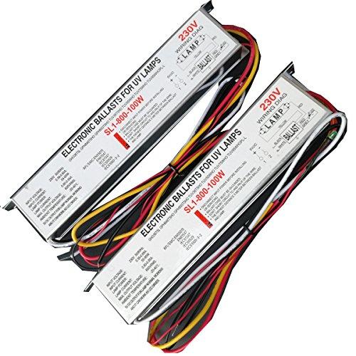 255-95W 230V keimtötende Lampe elektronischen vorschaltgeräten UV-Vorschaltgerät für UV-Lampen gho36t5l gph846t5ho gph893t5ho tuv36t5ho tuv55who tuv75who tuv95whopl-l SL1-800-100W -