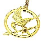 Colliers de Hunger Games–La fille de feu–Mockingjay couleur or