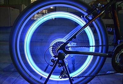 Tookie Colorful Ventilkappen Cap Lampe, 5Paar LED Licht, wasserdicht Fahrrad Rad Beleuchtung, Flash, für Car Bike Fahrrad Motorrad