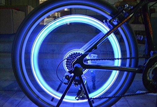 Tookie colorato rotella valvola della luce, 5paio LED flash-Kit luci, luci ruota di bicicletta, impermeabile per auto bici