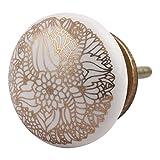 IndianShelf 2 Piece Handmade Ceramic Gol...