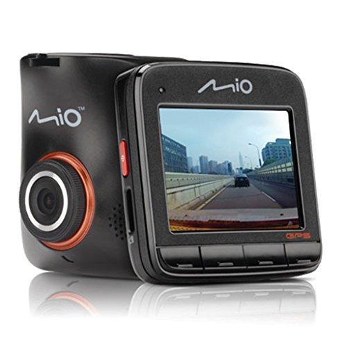 Mio MiVue 518 Drive Recorder Registratore Personale per la Guida con GPS, Full HD 1080p, Nero