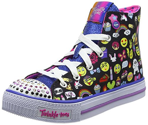 Skechers Shuffles Chat Time, Baskets Basses Fille