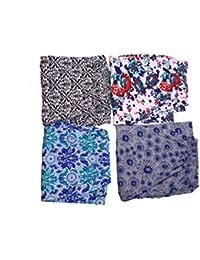 jyoti Women's Cotton Track Pants (sc-246, Multicolour, XL) - Pack of 4
