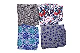 #2: jyoti Women's Cotton Track Pants (sc-246, Multicolour, XL) - Pack of 4