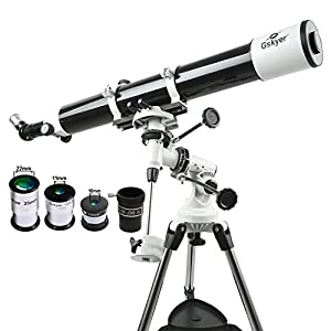 Gskyer Telescope, EQ80900 Astronomy Instruments PowerSeeker Telescope