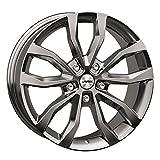 Autec Felgen UTECA 9.0x20 ET43 5x108 SIL für Ford C-MAX Edge Focus Galaxy Kuga Mondeo S-MAX