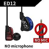 LUFA Kopfh?rer abnehmbare Kabel In Ohr Audio Monitore ger?uschisolierende HiFi Musik Ohrh?rer Ohrst?psel Mikrofon f¨¹r KZ ED12