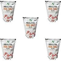 SAEK Sendha Namak 1KG pack of 5 packets the himalyan pink salt