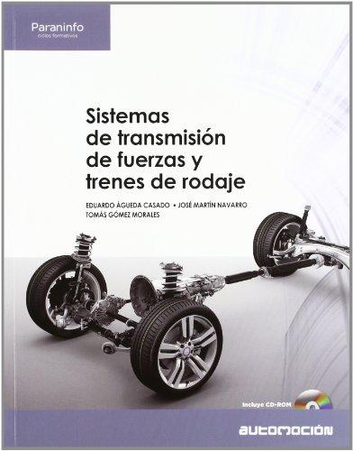 Descargar Libro Sistemas de transmisión de fuerzas y trenes de rodaje de EDUARDO ÁGUEDA CASADO