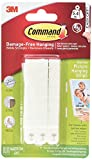 Command Narrow Picture Hanging Strips, 4 pairs (2)