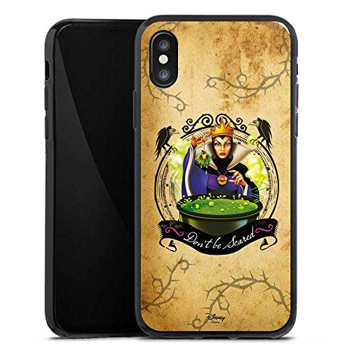 Apple iPhone 7 Plus Silikon Hülle Case Schutzhülle Walt Disney Schneewittchen Hexe Geschenk Silikon Case schwarz