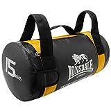 Lonsdale Core - Saco Pesados de Boxeo, Color Amarillo, Talla 15 kg