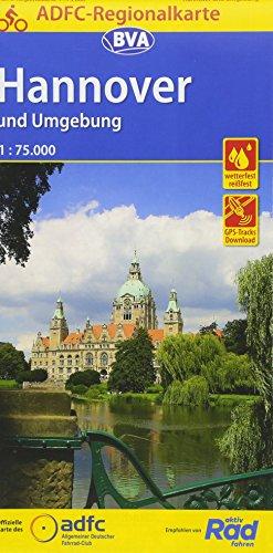 Top trend ADFC-Regionalkarte Hannover und Umgebung, : .000, reiß- wetterfest, GPS-Tracks Download (ADFC-Regionalkarte :75000)